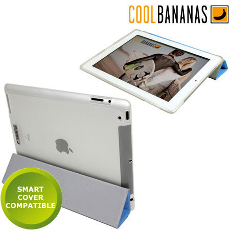 Coque iPad 2 Cool Bananas Smart Shell - Transparente
