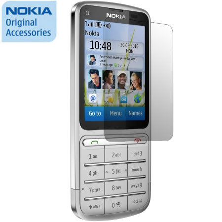 Nokia CP 5010 Screen Protector - Nokia C3 01 Touch and Type