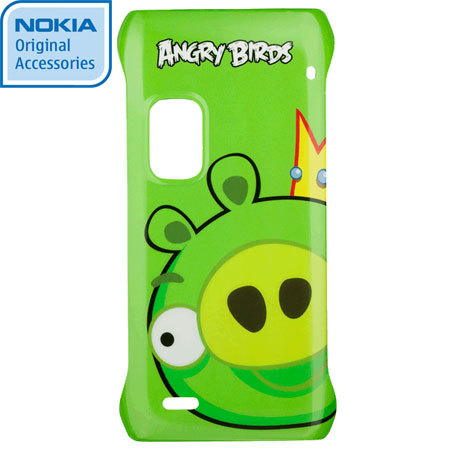 Nokia CC-5001 Angry Birds Hard Cover for E7 - Pig King