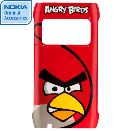 Nokia CC-5000 Angry Birds Hard Cover for N8 - Red Bird