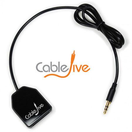 CableJive DockBoss Smart Audio Input Adapter for Apple 30 Pin Docks