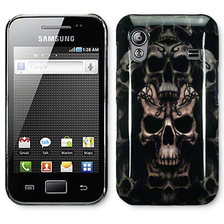 new style d4766 0837d Protective Back Cover for Samsung Galaxy Ace - Skulls