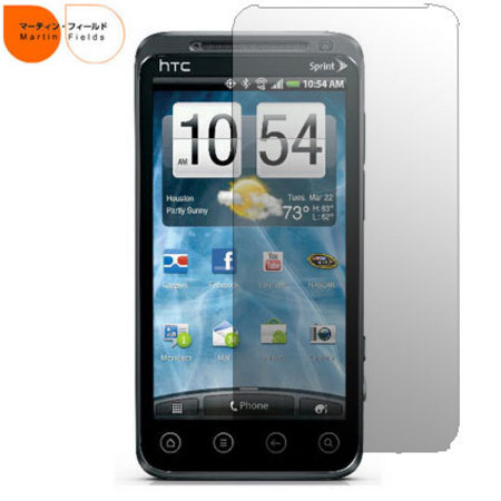 Martin Fields Screen Protector - HTC EVO 3D