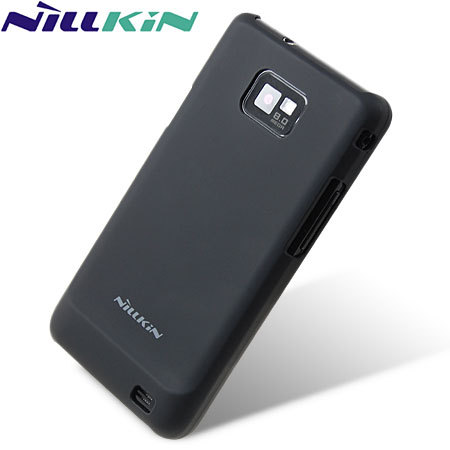 Nillkin Rubberised Back Cover for Samsung Galaxy S2 - Black