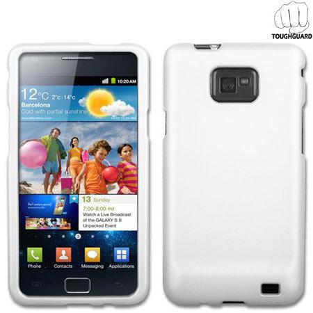 ToughGuard Shell for Samsung Galaxy S2 - White