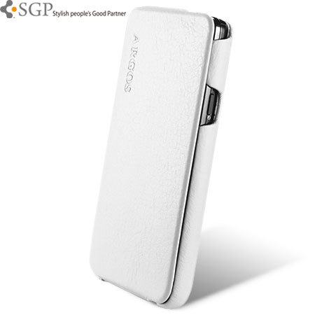 pretty nice f6eec 01ebc SGP Argos Series Leather Case for Samsung Galaxy S2 - White