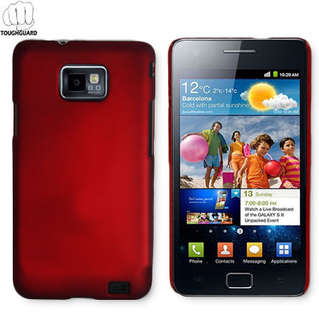 ToughGuard Shell For Samsung Galaxy S2 - Red