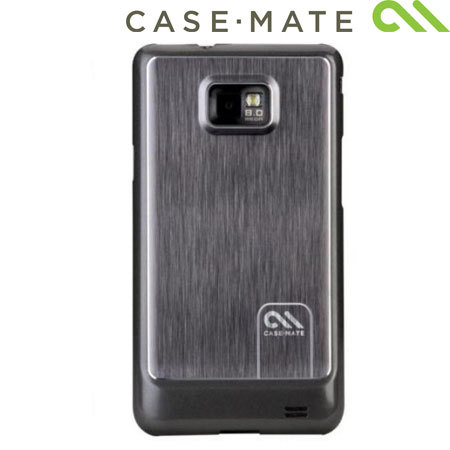 Case-Mate Barely There For Samsung Galaxy S2 Brushed Aluminium  - Silver