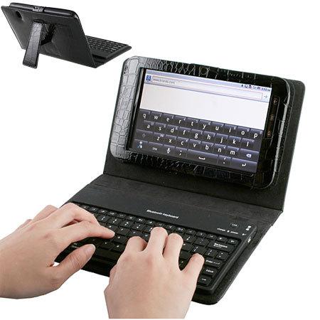 Dell Streak 7 KeyCase With Bluetooth Keyboard - Black