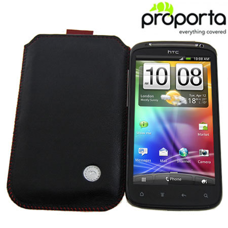Proporta Alu-Leather Slip Pouch for HTC Sensation / Sensation XE