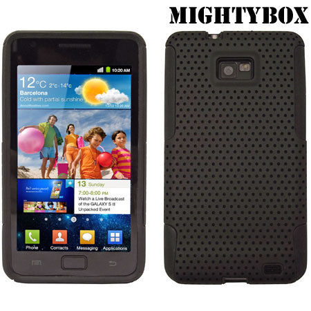 MightyBox Double Protection Case for Galaxy S2 - Black
