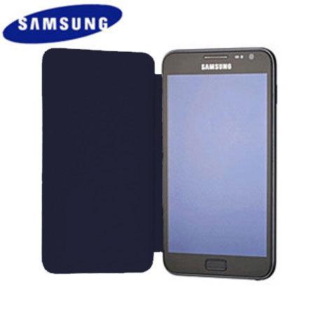 Flip Cover officielle Samsung Galaxy Note EFC-1E1FBECSTD - Bleue