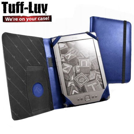 Tuff-Luv Smart Jacket Kindle / Paperwhite / Touch  - Electric Blue
