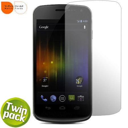 Martin Fields Screen Protector Twin Pack - Samsung Galaxy Nexus
