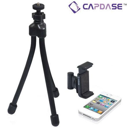 Trépied iPhone 4S / 4 Capdase Smart Tripod