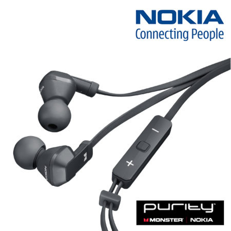 Nokia WH-920 Purity In-Ear Stereo Headphones - Black