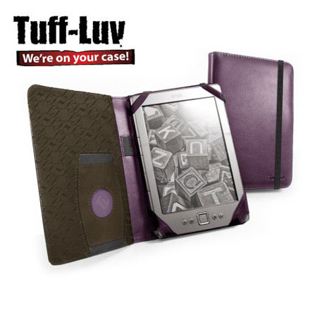 Tuff-Luv Embrace Kindle / Paperwhite / Touch Cover - Purple