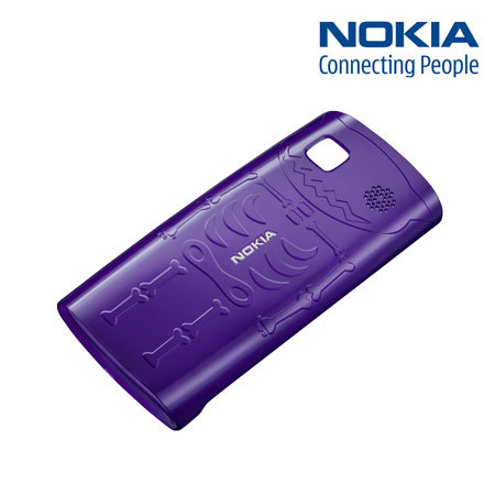 Nokia 500 Xpress-on Skeleton Hard Cover CC-3024 - Purple :: MobileFun ...