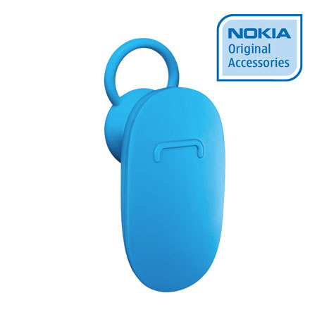 Oreillette Bluetooth officielle Nokia BH-112 - Cyan