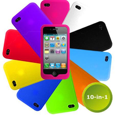 carcasa iphone 4s silicona