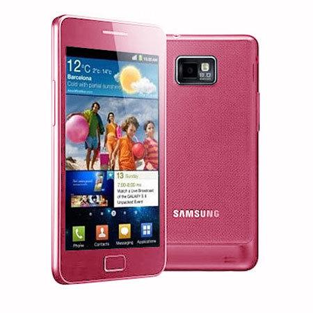 Sim Free Samsung Galaxy S2 i9100 - 16GB - Pink