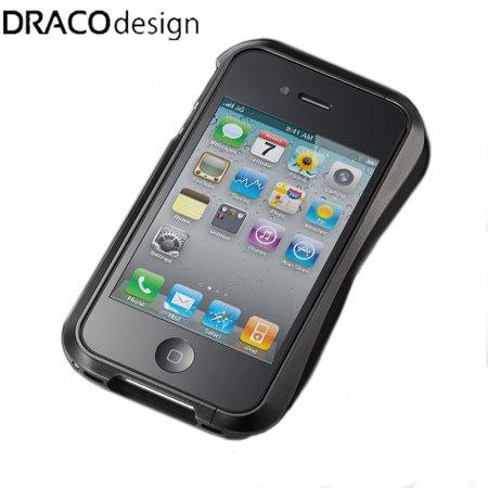 Draco IV Design Aluminium Bumper for the iPhone 4S / 4 - Black