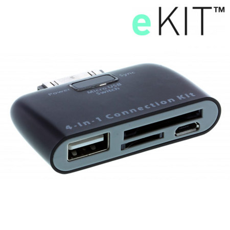 eKit 4-in-1 Connection Kit For Samsung Galaxy Tab 1/2 and Note 10.1