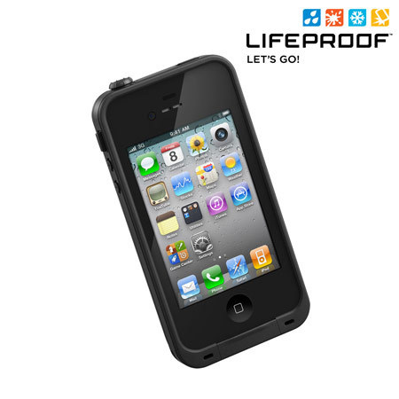 lifeproof case for iphone 4 lifeproof indestructible for iphone 4s 4 black 17771