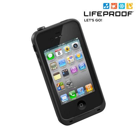 Funda iphone 4s 4 indestructible lifeproof negra - Fundas lifeproof ...
