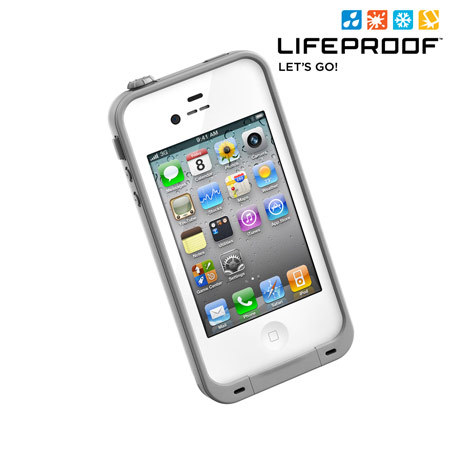 iphone 4s cases lifeproof lifeproof indestructible for iphone 4s 4 white 8073