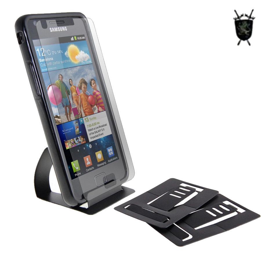 FlexiShield Imperial Case and Stand Pack for Samsung Galaxy S2
