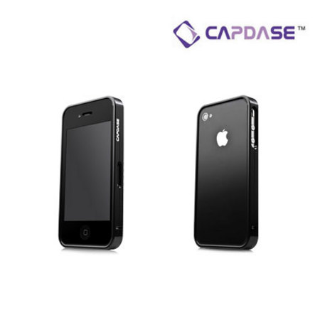 Capdase Alumor Bumper for iPhone 4S / 4 - Black