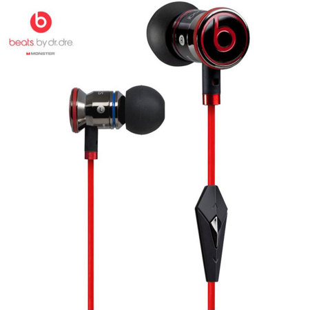 Monster Beats by Dr Dre iBeats Headphones with ControlTalk - Black