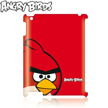 Funda Gear4 Angry Birds para iPad 3 - Pájaro Rojo