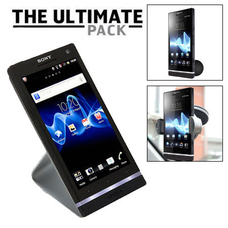 The Ultimate Sony Xperia S Accessory Pack