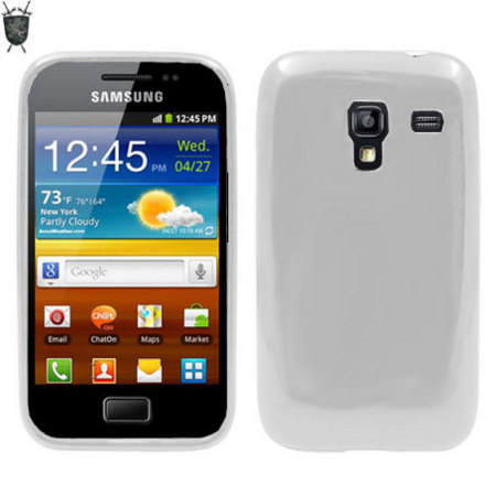 551f99e945a Funda FlexiShield Skin para Samsung Galaxy Ace Plus - Blanca