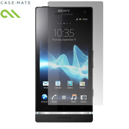 Case-Mate Screen Protector for Sony Xperia S