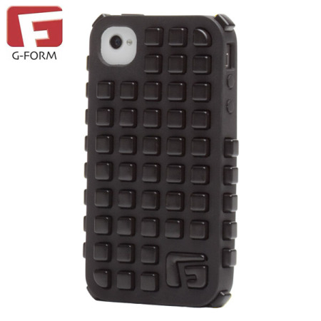 G-Form Extreme Grid Case for iPhone 4S/ 4 - Black