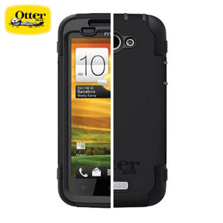 OtterBox For HTC One X Defender Series - Black