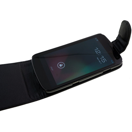 Leather Style Flip Case for Samsung Galaxy Nexus