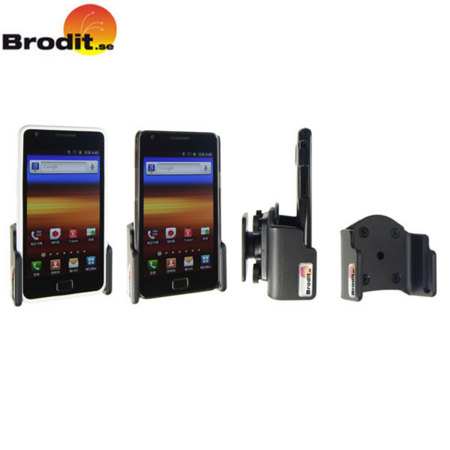 Brodit Passive Holder with Tilt Swivel - Samsung Galaxy S2 With Case