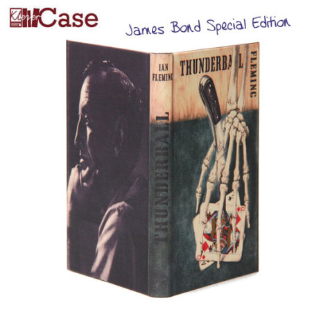 limitierte klevercase false book amazon kindle touch tasche james bond thunderball. Black Bedroom Furniture Sets. Home Design Ideas