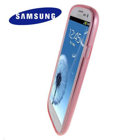b19866c895d Funda Samsung Galaxy S3 Original TPU - Rosa - EFC-1G6WPECSTD