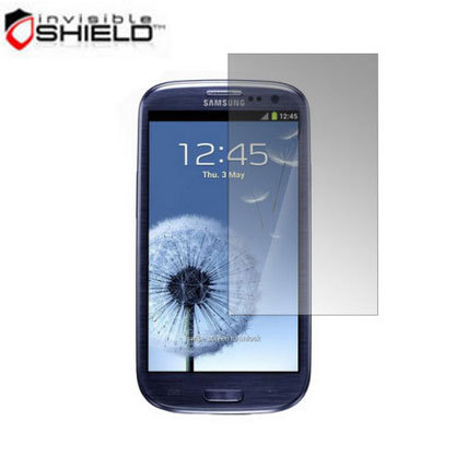Protection d'écran Samsung Galaxy S3 InvisibleSHIELD