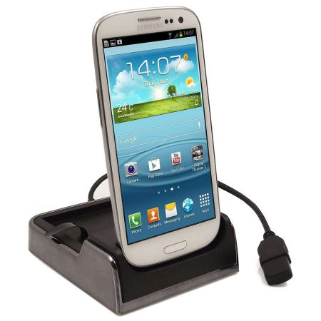 Dual Desk Dock for Samsung Galaxy S3