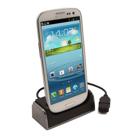 Samsung Galaxy S3 USB Desktop Charging Cradle