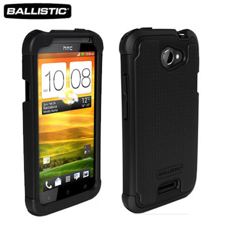 Ballistic Shell Gel Case for HTC One X - Black