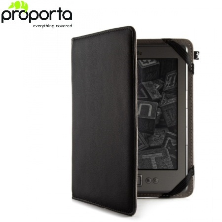 Proporta Leather Style Case  Kindle / Paperwhite / Touch - Black