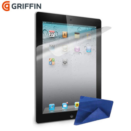 Griffin TotalGuard Level 1 Screen Protector for iPad 3
