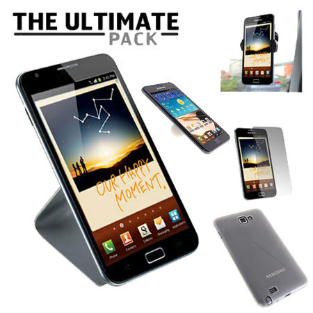 The Ultimate Samsung Galaxy Note Accessory Pack - White